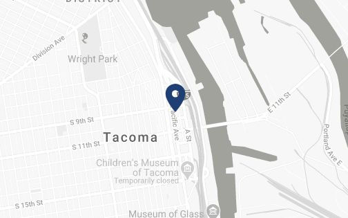 Location of Tacoma Office